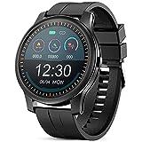 GOKOO Smartwatch Hombres Reloj Inteligente Pulsómetros Monitor de Actividad Recordatorio...