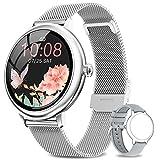 NAIXUES Smartwatch Mujer, Reloj Inteligente Impermeable 67, Monitor de Sueño y Caloría...