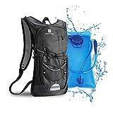 Mochila de hidratación de 2L con bolsa de bicicleta de vejiga de hidratación para correr...